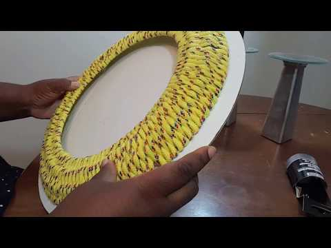 DOLLAR TREE DIY| HOME DECOR| BASKETWEAVE MIRROR | DIY CREATORS