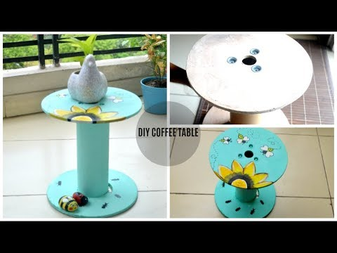 Simple DIY COFFEE TABLE | DIY Home Decor Ideas | Scarlet Strokes
