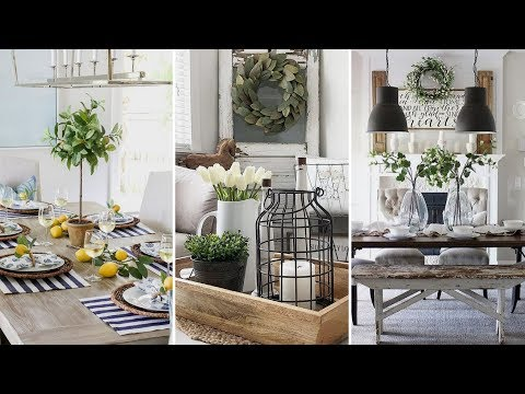 ❤DIY Farmhouse style dining room centerpieces Ideas❤ | Home decor & Interior design| Flamingo Mango