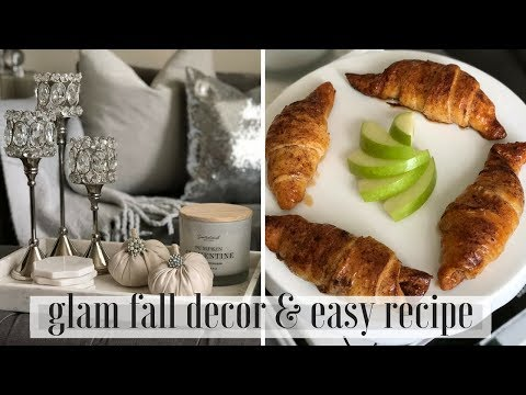 FALL DIY GLAM HOME DECOR & RECIPE 2018