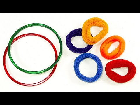 Best craft idea || DIY arts and crafts || Cool idea you should know || DIY Hair rubber crafts