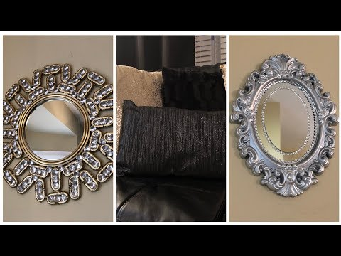 Dollar Tree DIY || 💕 Creating Glam Home Decor w/ Halloween Decorations 💕