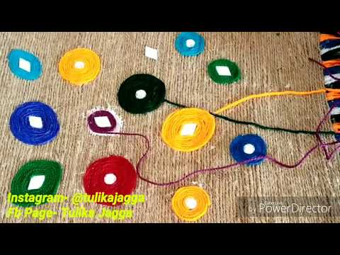 DIY Easy Jute Wall Hanging/Home decor Craft/ Jute nd Wools/ Art nd Craft/ Easy Craft/#tulikajagga