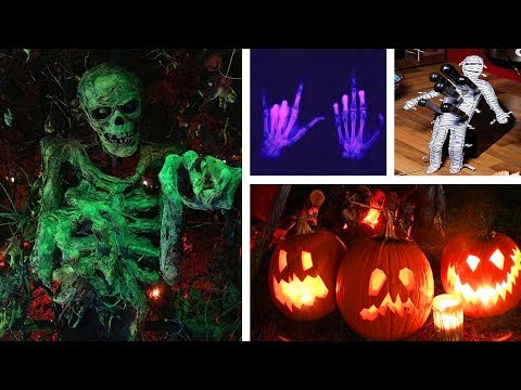 DIY HALLOWEEN DECOR! 5 Easy Crafts Ideas at Home for Halloween !