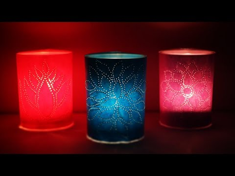 DIY Paper Lamp | Diwali Decorations | Christmas Decorations | DIY Home Decor | Little Crafties