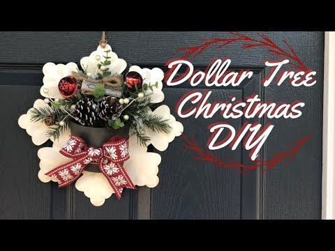 Dollar Tree Christmas DIY | Christmas Decor DIY