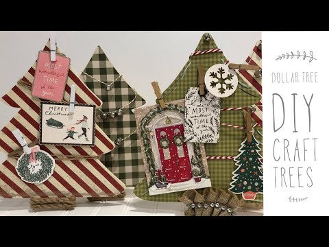 Dollar Tree DIY | Holiday DIY | Farmhouse Inspired Home Decor DIY | Dollar Tree DIY