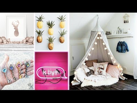 DIY Room Decor! 5 Easy Crafts at Home, Diy Ideas for Teenagers