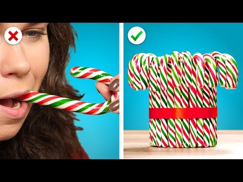 Turn Edibles into Christmas Decor! Candy Decorations And More DIY Christmas Ideas