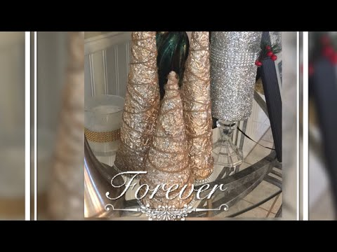 Dollar Tree DIY Home Decor Christmas Trees Ideas Creating Elegance For Less With Faithlyn 2017