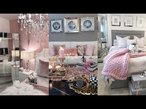 SINGLE WOMANS GLAM & GIRLY HOME DECOR INSPIRATION & IDEAS | BLUSH PINKS | INSTAGRAM ROOMS 2019