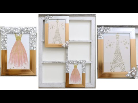 EASY DOLLAR TREE WALL DÉCOR DIY!  JANUARY 11, 2019