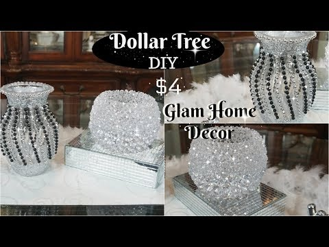 DOLLAR TREE DIY | 2 QUICK AND GLAM DOLLAR TREE DIY HOME DECOR IDEAS TO TRY!!!