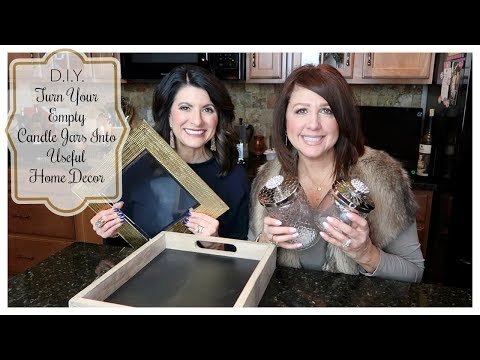 D.I.Y.: Turn Your Empty Candle Jars Into Useful Home Decor | The2Orchids