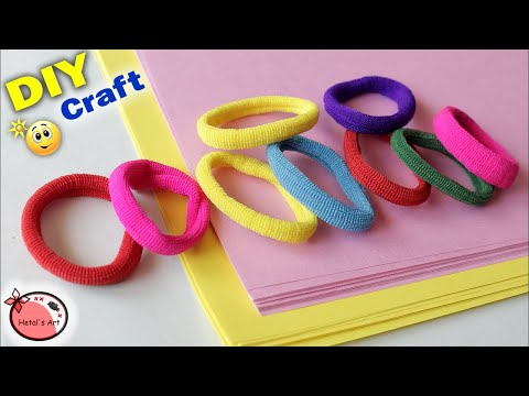 Best Idea Out Of Hair band || DIY Room Decor Idea || Handmade Craft || Wall Hanging craft ideas easy