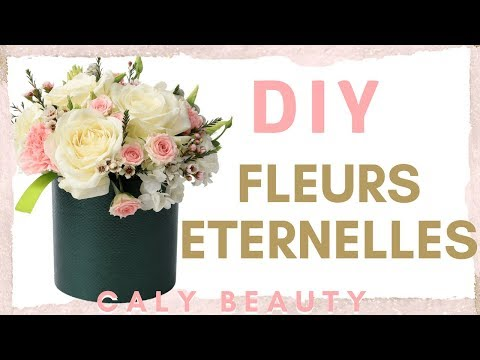 #diy #homedecor #decoration ✮ DIY ✮ Fleurs Eternelles Faciles | Easy Preserved Flowers | Caly Beauty