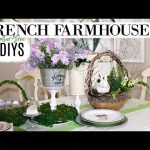 🍃 6 DIY SPRING EASTER FRENCH FARMHOUSE DOLLAR TREE DECOR CRAFTS 🍃 OLIVIAS ROMANTIC HOME DIY 2019