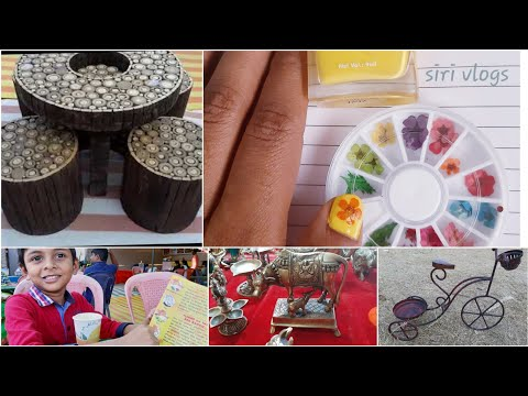 #Vlog #Diml Nail Art DIY Vlog || Home decor shopping ||Akshay talking to my parents in phone 😂