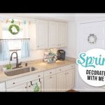 Spring & Easter Decorate with Me | Farmhouse Spring Home Decor Ideas 2019 | Spring Coffee Station