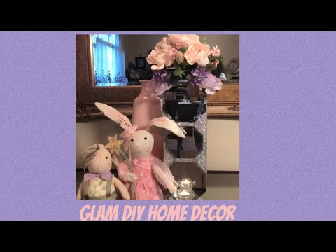 Glam DIY Home Decor Candle Holder Bling Bling Vase Creating Elegance For Less With Faithlyn 2019
