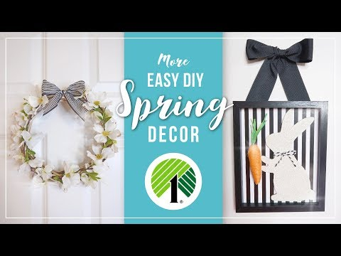 Spring & Easter DIY Home Decor Ideas | Easy Spring Crafts | DIY Easter Decorations