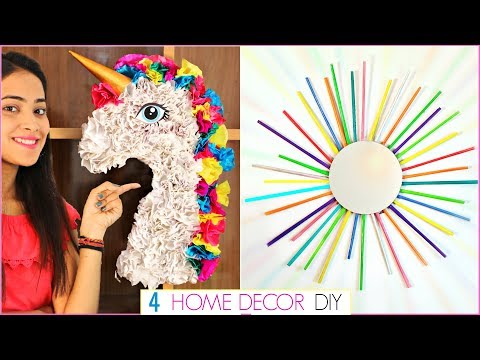 DIY Home Decor Using Waste – 4 Easy Craft Ideas at Home | #Recycle #Handcraft #Anaysa #DIYQueen