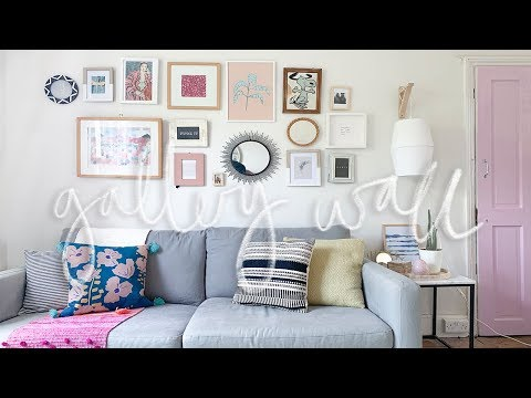 Thrifted DIY Gallery Wall Project | DIY Home Decor on a Budget