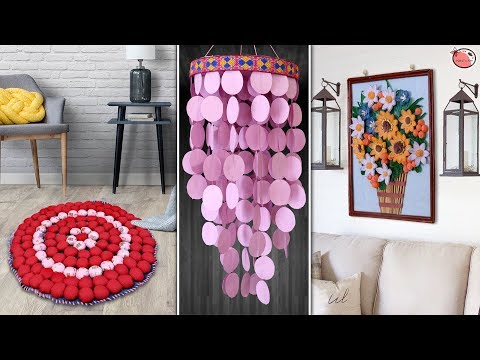 11 Easy yet Decorative DIY Home Decor & Organization Craft Idea…..