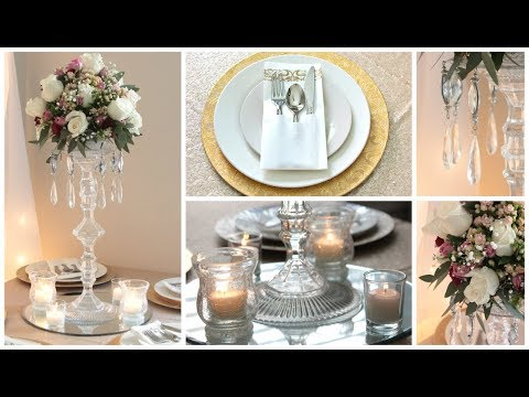DOLLAR TREE WEDDING CENTERPIECE DIY AND IDEAS 2019