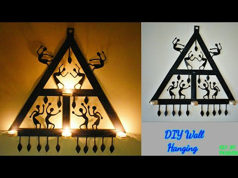 DIY Wall Decor With Cardboard | Wall Hanging Craft Ideas With Paper | Home Decor Ideas |artmypassion