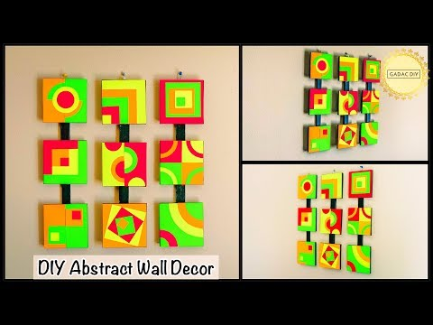 Brighten up your living room| Unique Wall Decoration Ideas| gadac diy| diy crafts| diy room decor