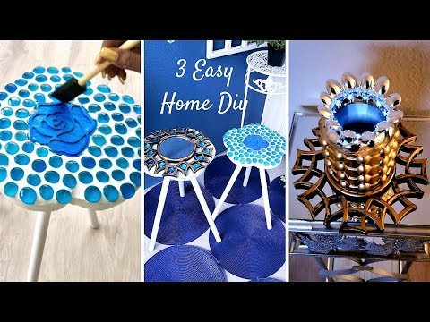 HOW TO DIY UNIQUE PIECES WITH KITCHEN ITEMS – QUICK AND EASY HOME DECOR IDEAS!