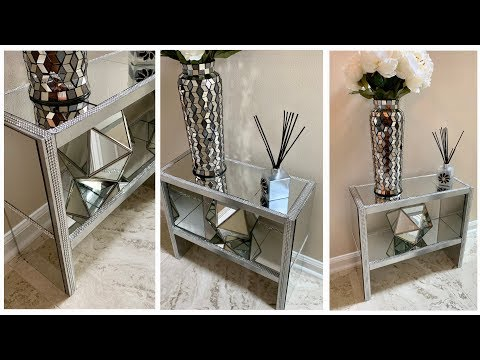 Dollar Tree DIY 💕Watch Me Make This Mirrored Shelf with Dollar Tree Items 💕
