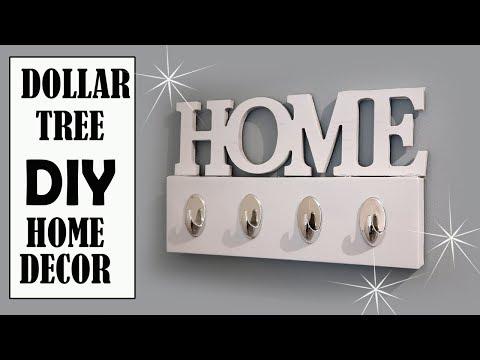 DOLLAR TREE DIY – HOME DECOR KEY HOLDER
