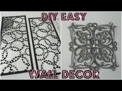 DIY MIRROR WALL DECOR IDEAS  | HOW TO REVAMP WALL DECOR | QUICK & EASY DIY IDEAS 2018