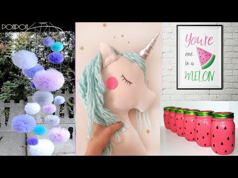 Amazing Room Decor! Easy Crafts Ideas at Home – Should See DIY Unicorns