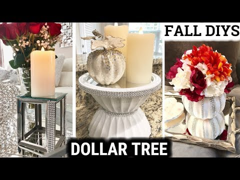 Dollar Tree Mirror Fall DIYS 2018 | DIY Home Decor Ideas
