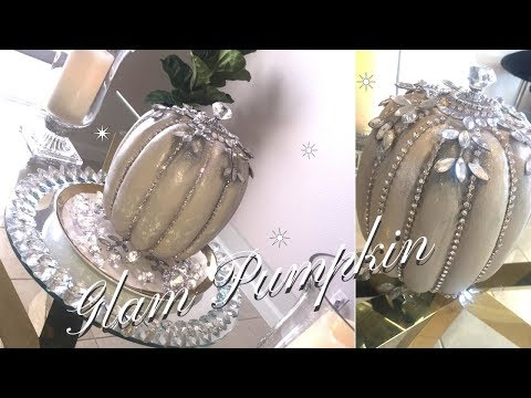 DIY*  Glam Pumpkin | Home Decor Ideas