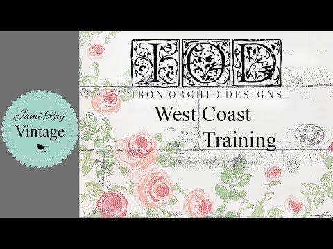 Home Decor Crafting | Our California Trip | IOD Training