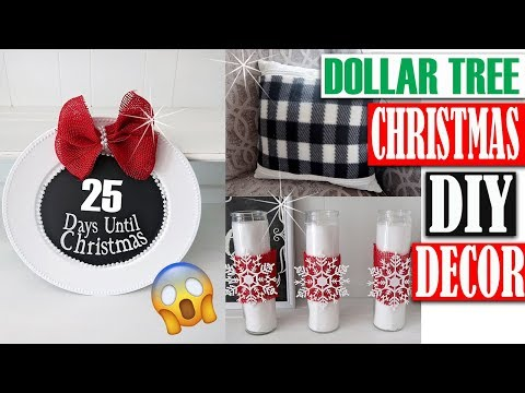 DOLLAR TREE CHRISTMAS DECOR 2018