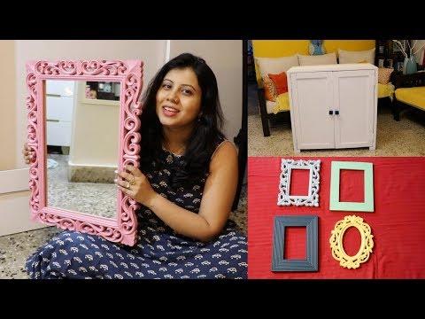 DIY Easy Home Decor Ideas | Mirror & Photo Frame DIY | Maitreyee Passion – Indian Daily Vlogger
