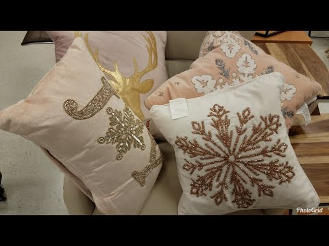 SHOP WITH ME: MARSHALLS | CHRISTMAS & HOME DECOR TOUR 2018 | LOTS OF GLAM & GLITTER!!!!
