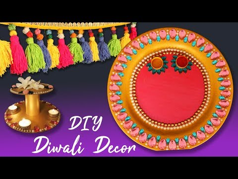 DIY – Easy Diwali Decoration Ideas at Home | Best Diwali Room Decor Ideas 2018 | Shreeja Bagwe