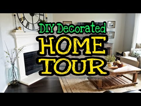 Farmhouse Home Decor Tour / DIY Farmhouse decor