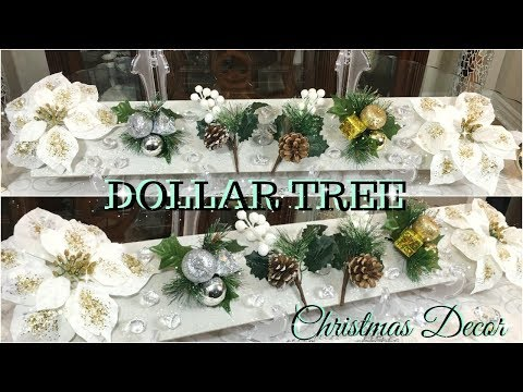 DOLLAR TREE DIY CHRISTMAS DECOR | DIY GLAM CHRISTMAS HOME DECOR | CHRISTMAS DECOR 2018