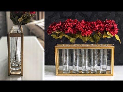 DIY Dollar Tree Flower Vase Hack –  Easy & Pretty!