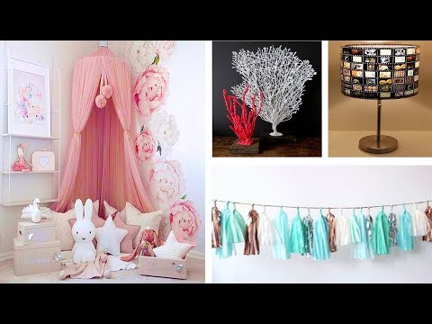 DIY ROOM DECOR! 4 Easy Crafts Ideas at Home #39