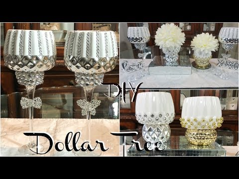 DOLLAR TREE DIY | 2 QUICK AND ELEGANT DIY DOLLAR TREE HOME DECOR IDEAS