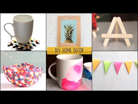 TOP 6 Home Decor Ideas You Can Easily DIY | DIY Room Decor