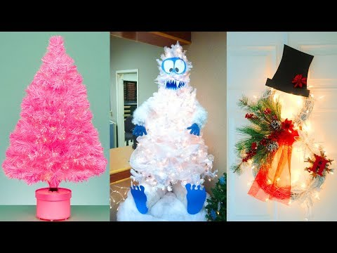 DIY Christmas Decor! Easy Fast DIY Christmas & Winter Ideas for Teenagers #21